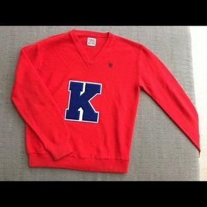 Furst of a Kind Vintage Varsity 'K' Sweater